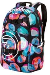 MEATFLY dámský vícebarevný batoh Basejumper 4