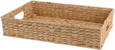 Marex Trade Podnos s uchy z vodního hyacintu, 45 x 30 cm