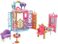 Mattel Barbie tęczowy zamek