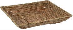 Marex Trade Čtvercový košík z banánových listů, 32 cm