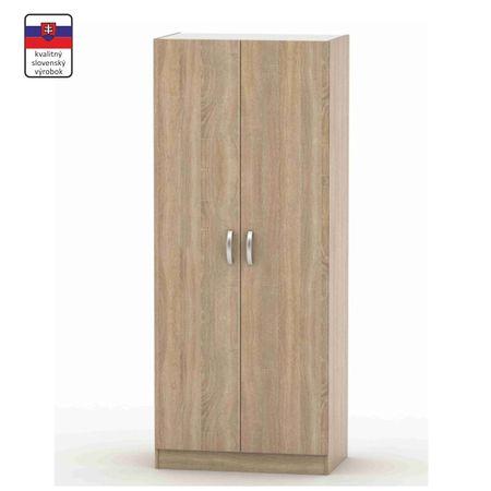 2-dverová skriňa, dub sonoma, BETTY 2