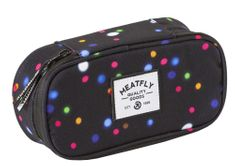 MEATFLY School Pencil Case unisex fekete tolltartó