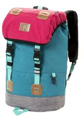 MEATFLY unisex vícebarevný batoh Pioneer 3