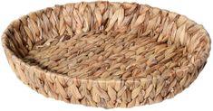 Marex Trade Kulatý košík z vodního hyacintu, 38 cm