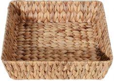 Marex Trade Čtvercový košík z vodního hyacintu, 35 cm