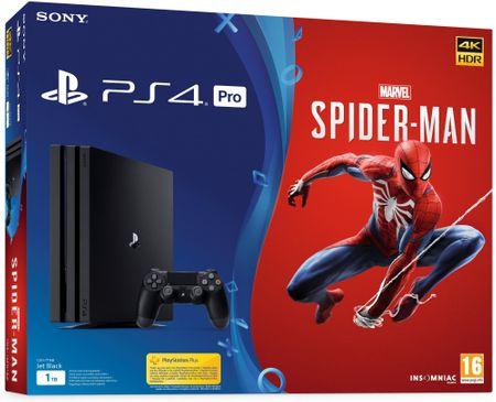 SONY PlayStation 4 Pro - 1TB + Pókember