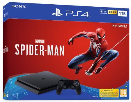 SONY PlayStation 4 Slim - 1TB + Pókember