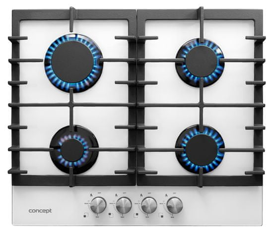 Concept plynová varná deska PDV7060wh