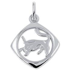 Brilio Silver Stříbrný přívěsek Býk 441 001 00872 04 - 1,13 g stříbro 925/1000