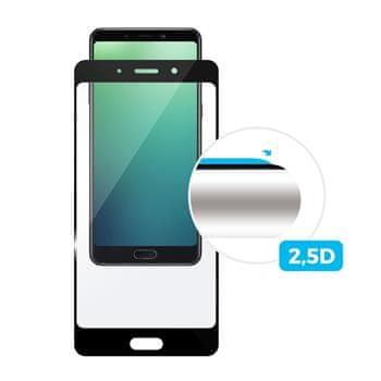 Fixed Ochranné tvrdené sklo FIXED pre Samsung Galaxy A6 +, cez celý displej, čierne, 0.33 mm FIXGF-317-BK