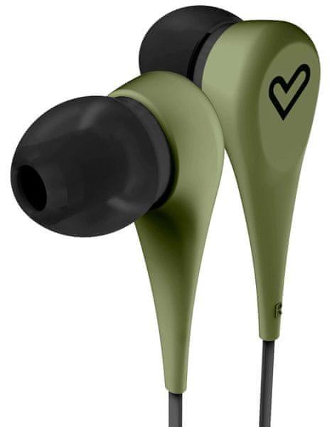 Energy Sistem Earphones Style 1, tmavě zelená