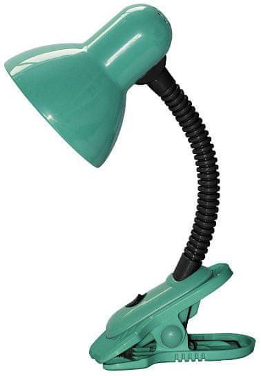 Rabalux Stolní lampa s klipem DENNIS, LED 40W, 230V zelená