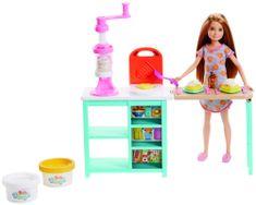 Mattel Barbie Stacie reggeli készlet