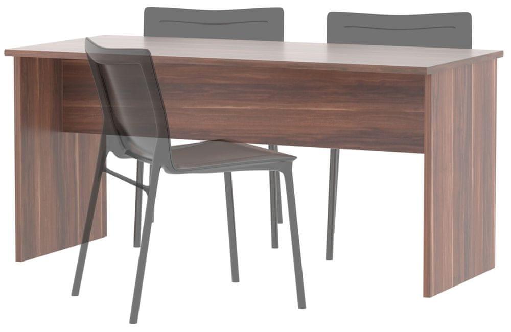 Stůl jednací GIANNI, švestka