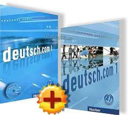 Kursiša Anta: Deutsch.com 1: Paket - KB + AB Tschechisch mit Audio-CD zum AB