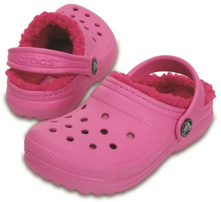 71cf4e6bbb1 Crocs Classic Lined Clog Party Pink Candy pink 32-33 (J1)