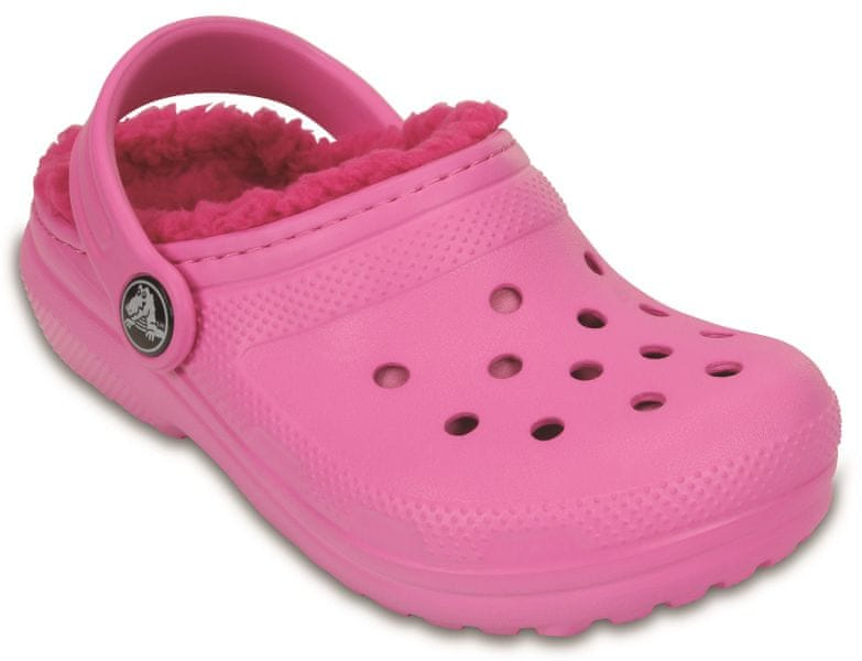 Crocs Classic Lined Clog Party Pink/Candy pink 32-33 (J1)