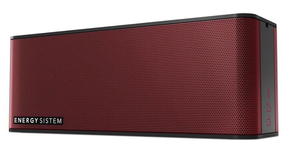 Energy Sistem Music Box 5+ přenosný reproduktor, červená