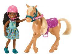 Mattel Barbie Chelsea s ponijem