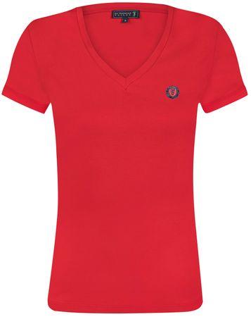 Sir Raymond Tailor T-shirt damski Auto Win XL czerwony