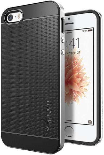 Spigen Neo Hybrid, satin silver - iPhone SE/5s/5 041CS20185