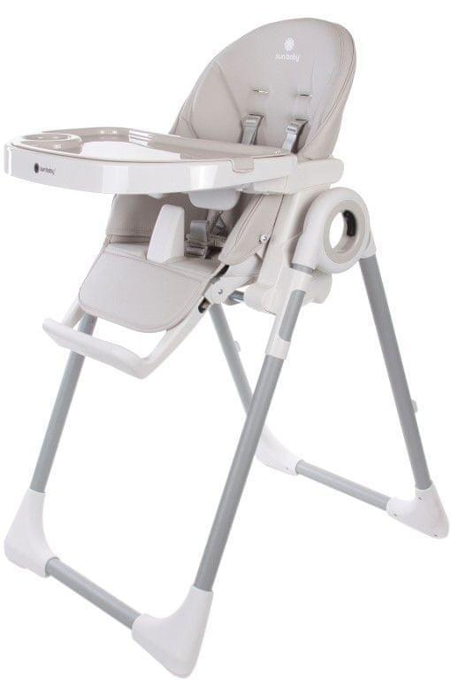 Sun Baby Jídelní židlička FIDI, Beige