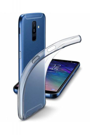 CellularLine gumijast ovitek Fine za Samsung Galaxy A6 plus 2018, prozoren
