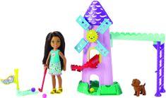 Mattel Chelsea Barbie minigolf játékkészlet