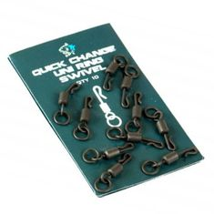 Nash Obratlík Quick Change Uni Micro Ring Swivel 10ks