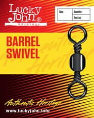 LUCKY JOHN Obratlík Barrel Swivel