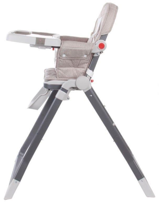 Sun Baby Jídelní židlička CUBBY, Beige