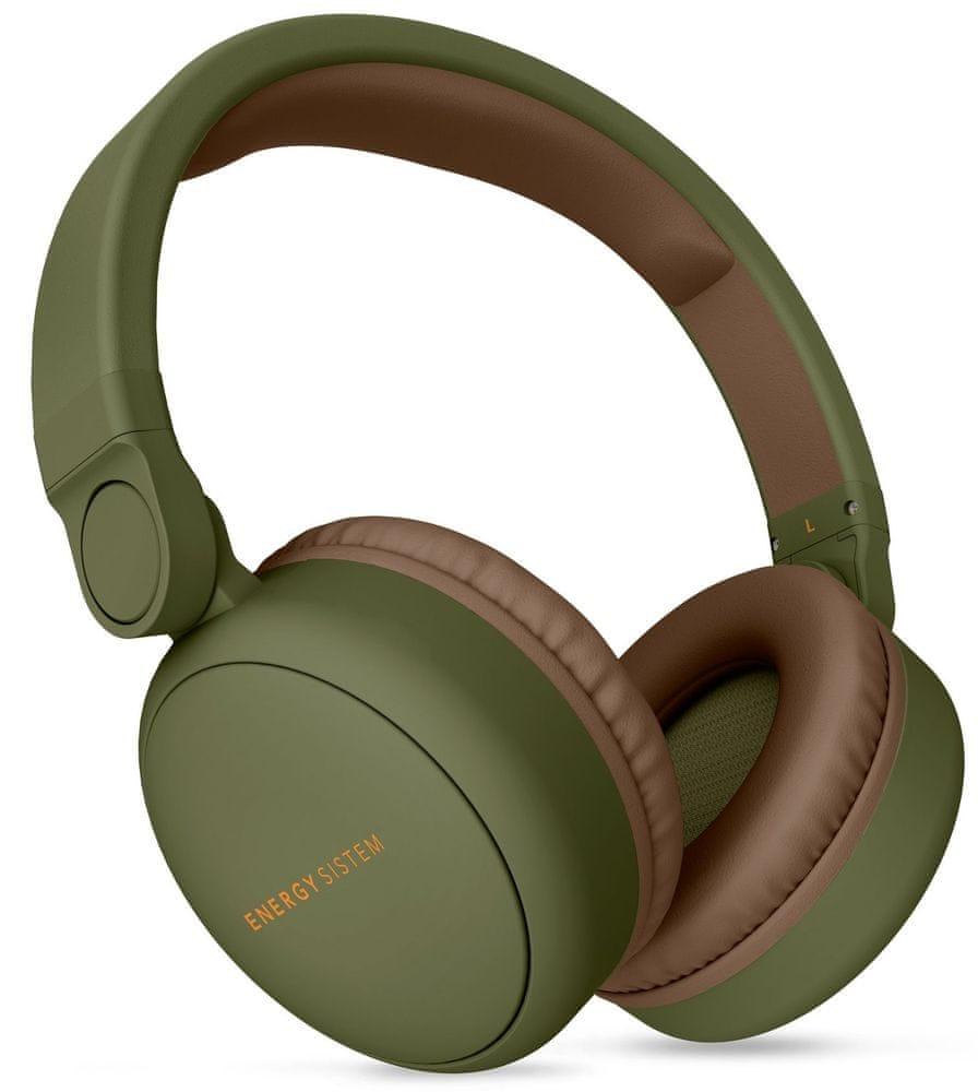 Energy Sistem Headphones 2 Bluetooth bezdrátová sluchátka, zelená