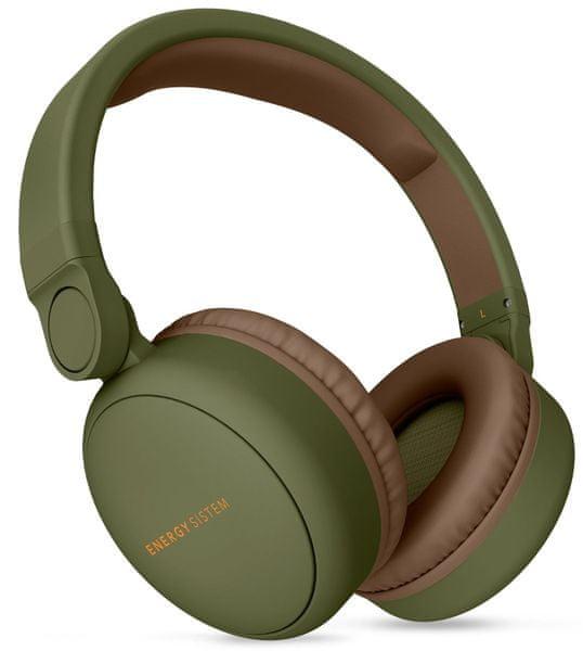 Energy Sistem Headphones 2 Bluetooth, zelená