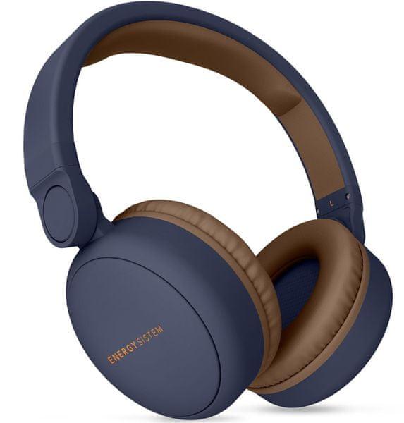 Energy Sistem Headphones 2 Bluetooth, modrá