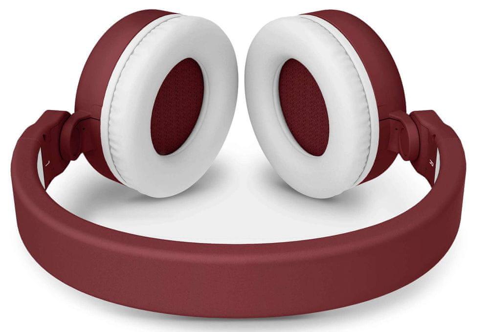 Energy Sistem Headphones 2 Bluetooth bezdrátová sluchátka, červená