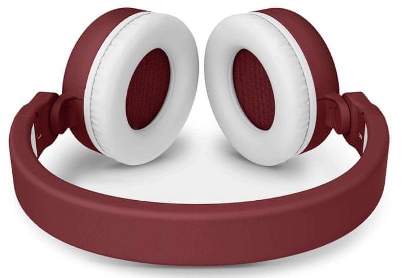 Energy Sistem Headphones 2 Bluetooth, červená