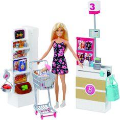 Mattel Barbie Supermarket herný set