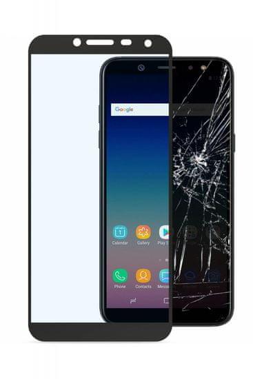 CellularLine zaščitno steklo Capsule za Samsung Galaxy J6 2018, črno