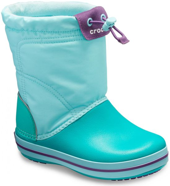 cc65a705505 Crocs Crocband™ LodgePoint Boot Ice Blue Tropical Teal 25-26 (C9)
