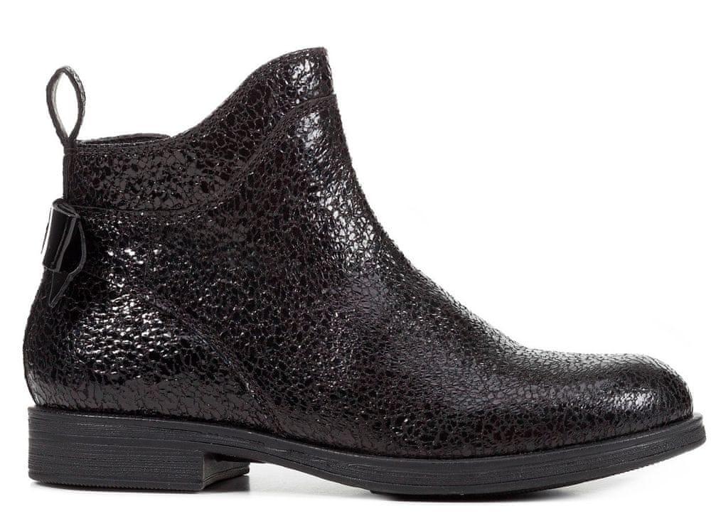 3dc30721abc Geox dívčí kotníčkové boty Agata 32 černá