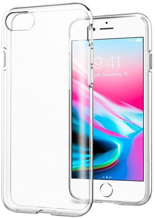 Spigen Liquid Crystal, clear - iPhone 7/8 054CS22203