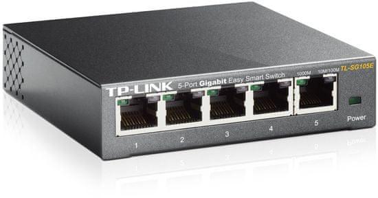 TP-Link 5-port Gigabit Smart mrežno stikalo TL-SG105E
