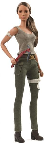 Mattel Barbie Tomb raider Lara Croft