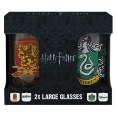 Sklenice Harry Potter - Erby / set 2 ks (0,5 l)