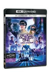 Ready Player One: Hra začíná  (2 disky) - Blu-ray + 4K ULTRA HD