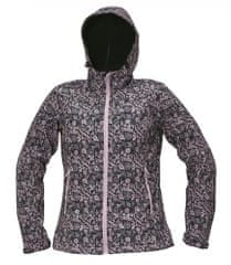 CRV Softshellová bunda Yowie Flower dámska navy/fialová M