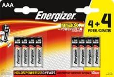 Energizer MAX AAA 4+4 ingyen 8- as csomag EU009