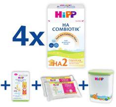 HiPP HA2 Combiotik 4x500 g + MILKBOX+BALZÁM+DUOWIPES