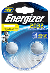Energizer Ultimate Lithium CR2032 2pack ECR027