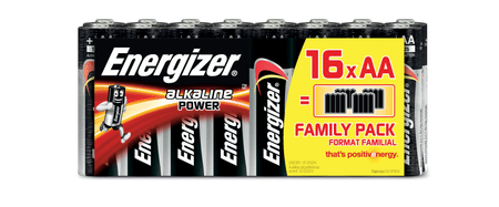 Energizer Alkaline Power Family Pack AA 16 pack EC004